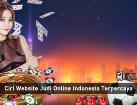 ciri website judi online indonesia